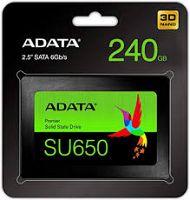 SSD ADATA SU650 2.5 240GB Adata-ASU650SS-240GT-R