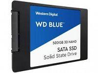 SSD WD 2.5 500GB WDS500G2B0A Blue 3D Western Digital-WDS500G2B0A