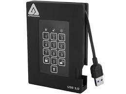 HDD Apricorn Aegis Fortress extern 2.5 500GB Apricorn-A25-3PL256-500F-foto-mare-1